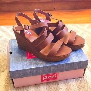 Pop Comfort Fit Wedge Sandals